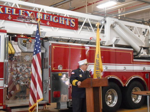 Sen. Cory Booker and Rep. Leonard Lance Visit Berkeley Heights To Present $185,360 Federal Grant For Firefighter Assistance, photo 5