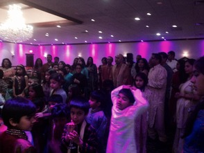 Millburn Indian Community at the Diwali party