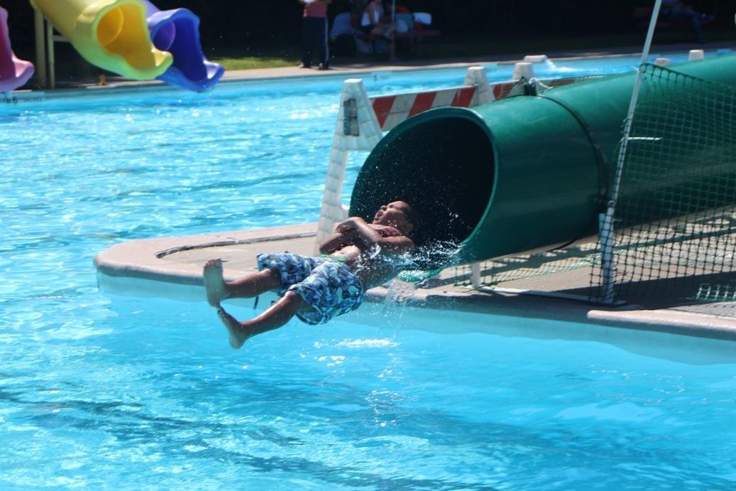 New Slide At Community Pool Is Splash Hit South Plainfield Nj News Tapinto