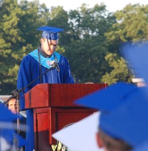 Banek Delivers Valedictory Speech