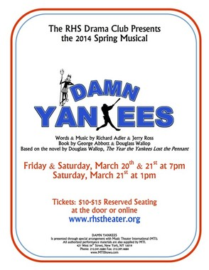 """Damn Yankees"" Official Poster"