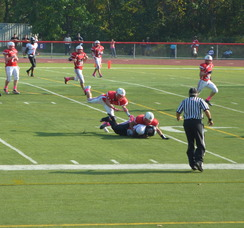Gov. Livingston Suffers Tough Loss Against Rahway 35-0, photo 2