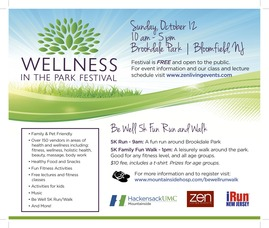 Wellness in the Park, Bloomfield, NJ