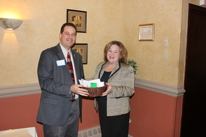 Randolph Area Chamber Donates to Hope House at Holiday Luncheon, photo 1