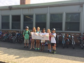 Westfield Elementary School Holds 'Bike to School Day', photo 1