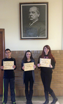 Students of the Month - January 2014
