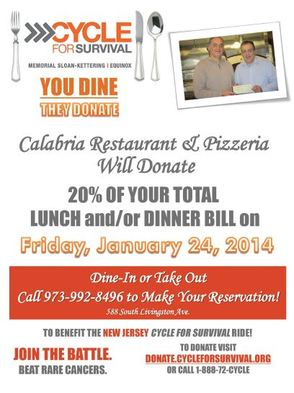 Calabria's Supports Cycle for Survival