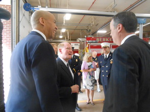 Sen. Cory Booker and Rep. Leonard Lance Visit Berkeley Heights To Present $185,360 Federal Grant For Firefighter Assistance, photo 25