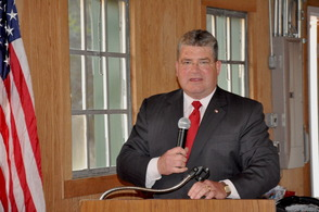 Senator Steve Oroho speaks about Rich Vohden.