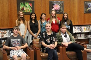 Sparta High School April Students of the Month