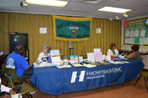 Community Outreach nurses from HackensackUMC Mountainside Blood Pressure Screening