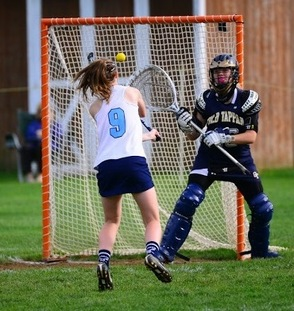 Beth McGraw Scores 100 LAX Goal for Sparta High School