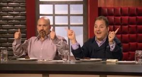 Judges Tony Luke, Jr. and Josh Capon