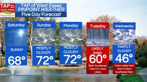 West Essex Area Weather for Saturday, April 12, photo 1