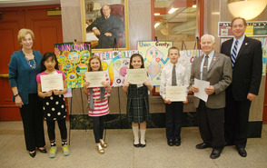 Westfield Girl 'My County' Poster Contest Winner, photo 1