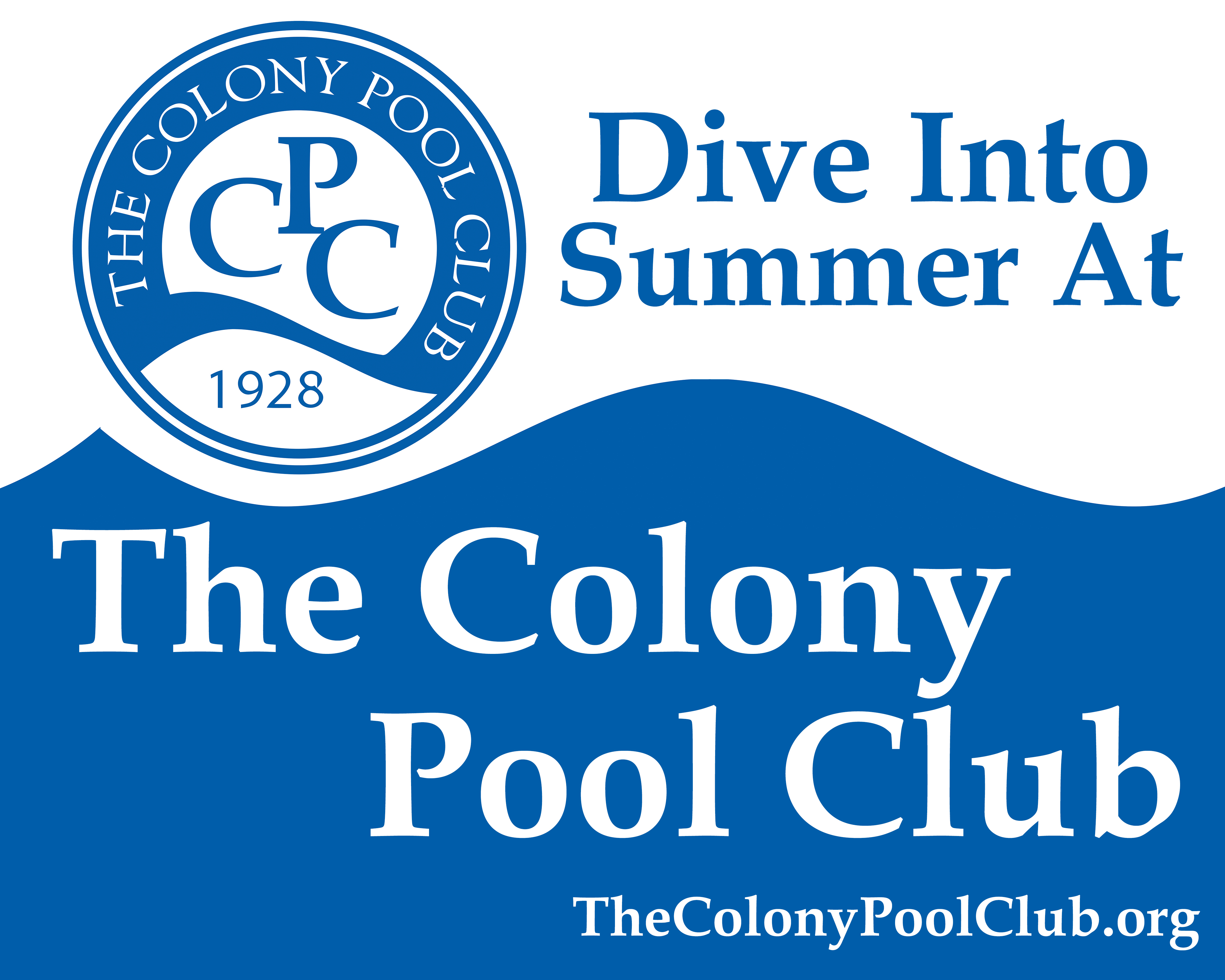 The Colony Pool Club Registration is Now Open