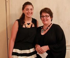 Allessa Danino and Lisa Fiorentine