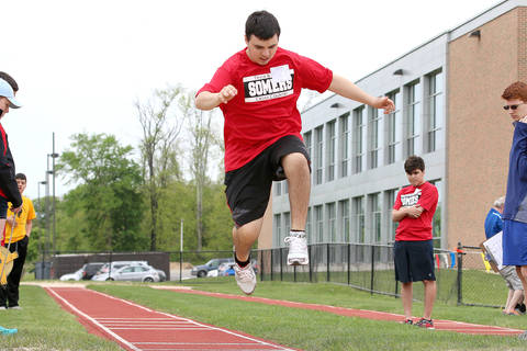 Somers Hosts Special Olympics Track Meet
