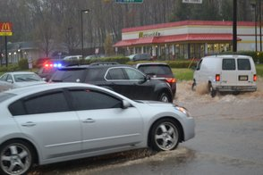 Route 22 and Rock Avenue Flooding