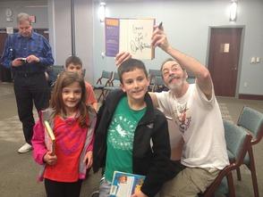 Kids Meet Children's Book Author