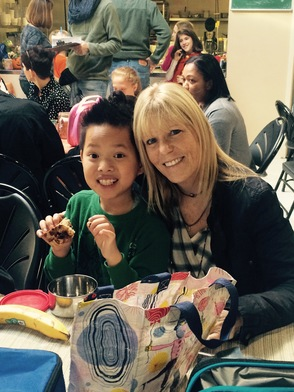 Unity Charter School Brings Parents to Lunch, photo 2