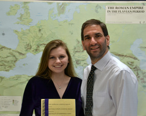 Maria Bychov and Dr. Christopher Trause