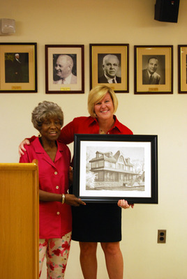 Fanwood Council Presents Thelma Southers as Volunteer of the Month, photo 1