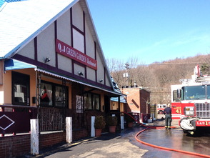 Q.J. Green Garden Restaurant Catches Fire in Millburn , photo 3
