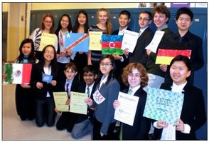 Heritage Model UN Team Wins Honors