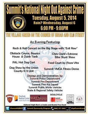 Summit NNO Flyer