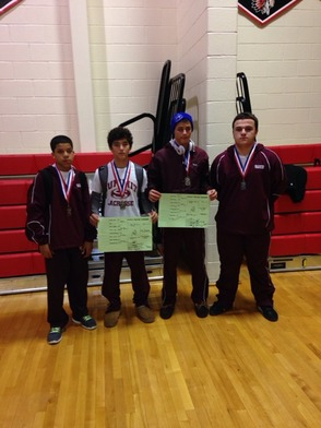 SHS Wrestling Winners