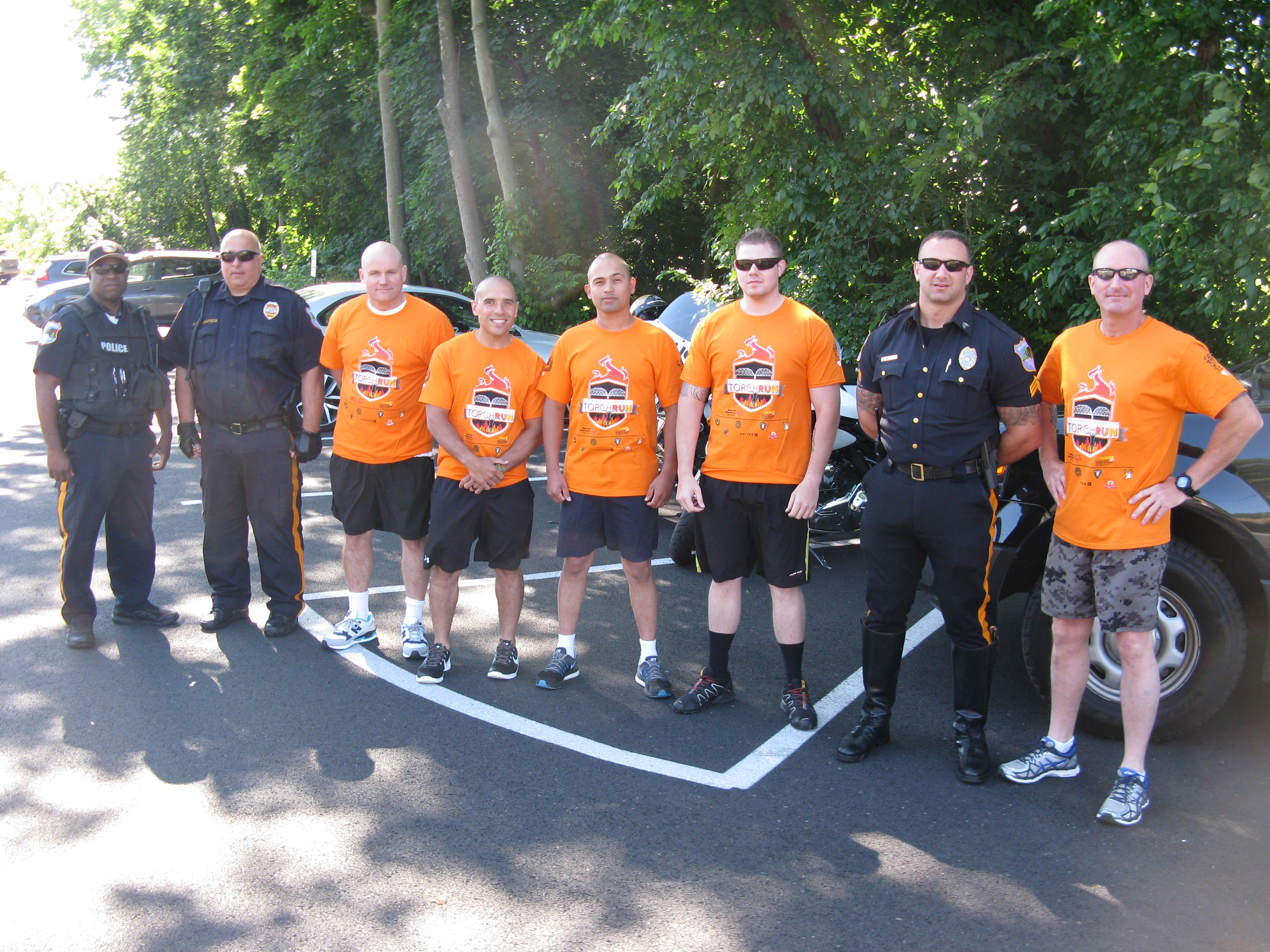 Merced County joins Torch Run to support Special Olympics
