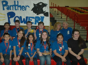 The Academy of Our Lady of Peace Robotics Team