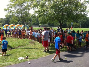 Florham Park Day Camp, which includes an end-of-summer field day and BBQ (pictured), is open to residents and non-residents.