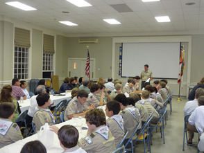 Chatham B.S. Troop 121 Court of Honor
