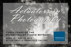 Actuators in Photography: Three years of the Peters Valley Photo Retreat, photo 1