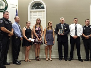 Four Awarded Hatfield Township Police William Chapman Memorial Scholarships