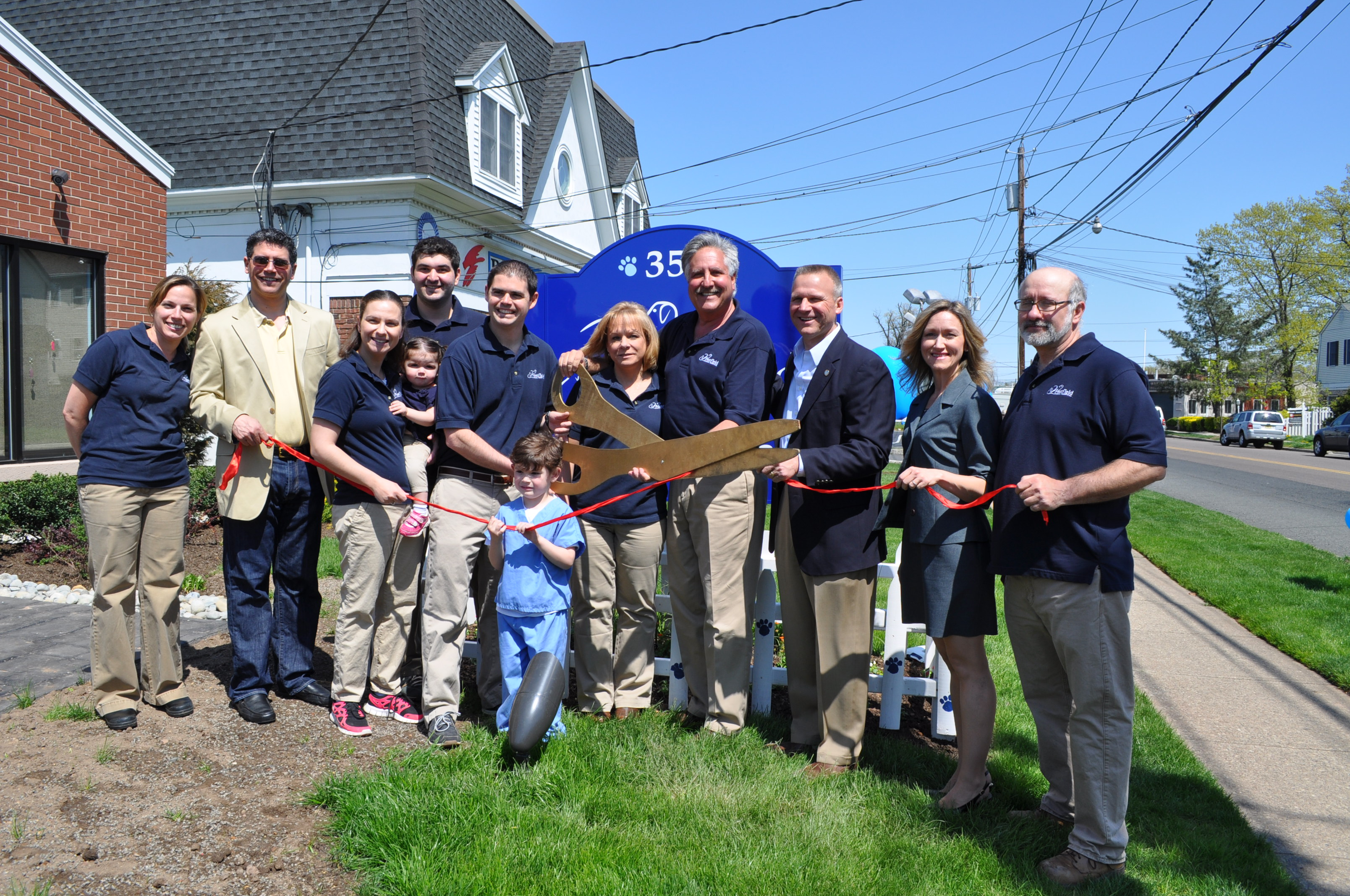 Westfield Animal Hospital Hosts Open House For Grand Re Opening Westfield Nj News