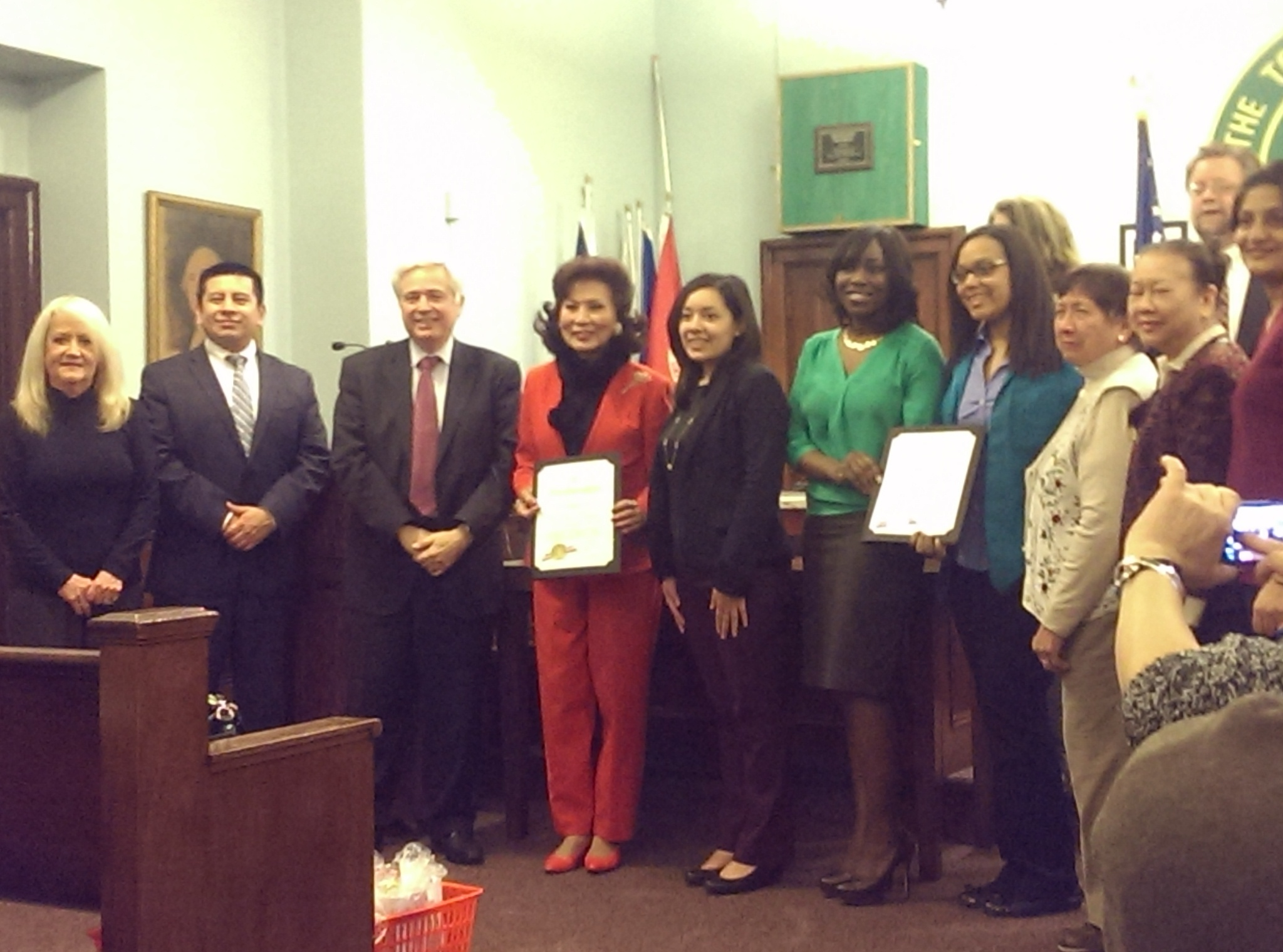 Health Enthusiasts Honored At West Orange Township Council