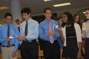 Millburn High School Inducts New Peer Leaders, photo 2