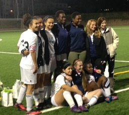 "West Orange Girls Soccer Victorious On ""Senior Night"""