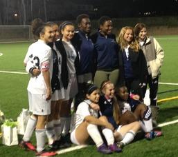 "West Orange Girls Soccer Victorious On ""Senior Night"""