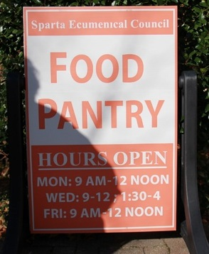 Sparta Ecumenical Food Pantry