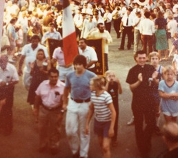 Annual Procession in the late 1970s