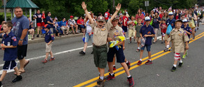 Boy Scouts Marching Too!