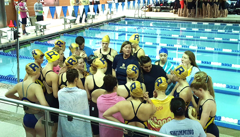 Sectional championship eludes roxbury girls swim team roxbury nj news tapinto for Mark morris high school swimming pool
