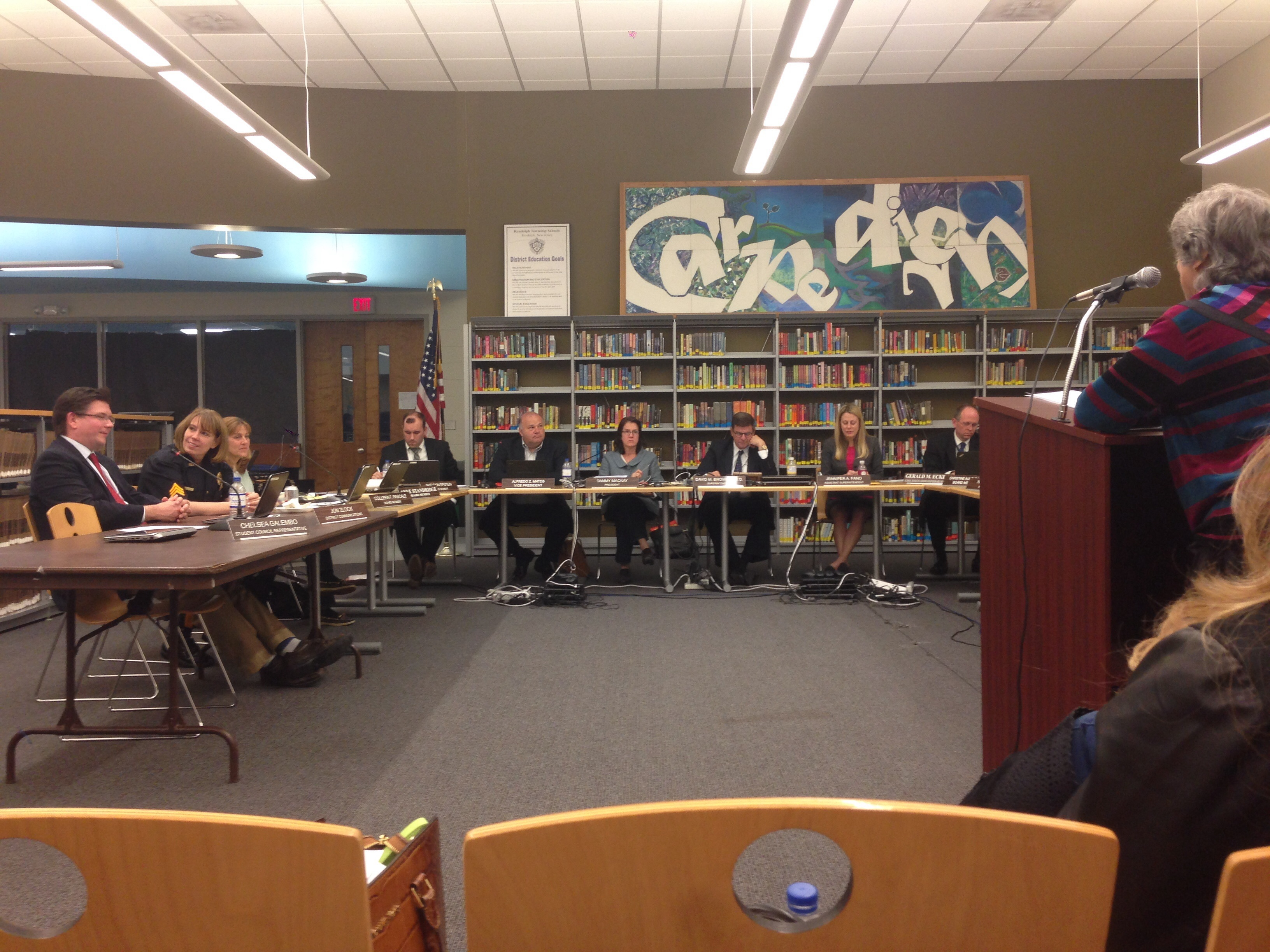 RMS Math Program, REA Negotiations and More Updates at The Randolph Board of Education Meeting
