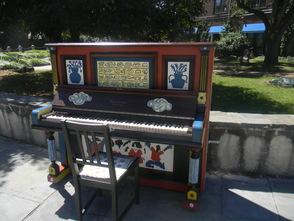 The piano at Spiotta Park