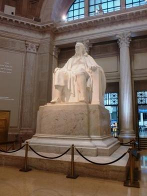 Ben Franklin statue at The Franklin Institute