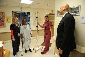 Senator Cory Booker at SBMC